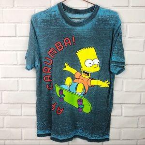The Simpsons | Bart Simpson cowabunga Graphic tee